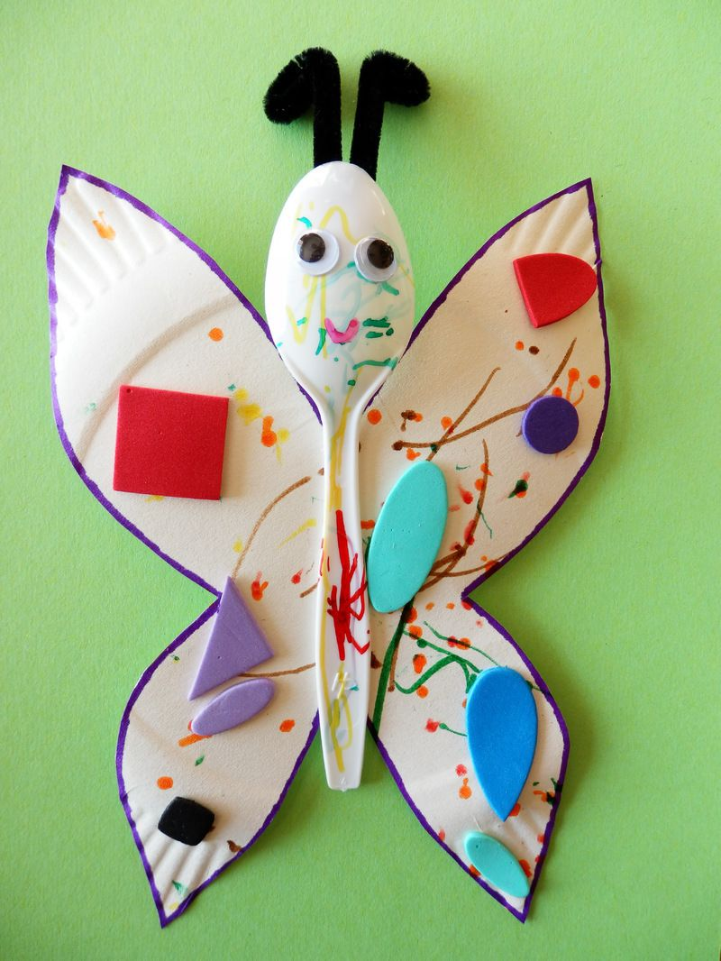 Papillon assistante maternelle agreee a saulchery 02310 - Bricolage avec recuperation ...